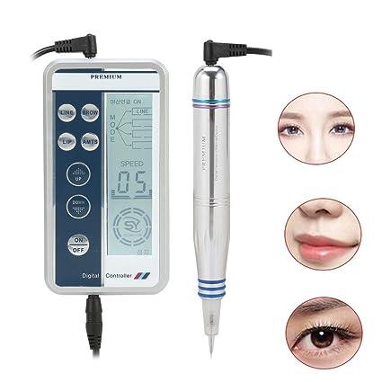 Kit de máquina de tatuaje con delineador de labios, lápiz de cejas ...