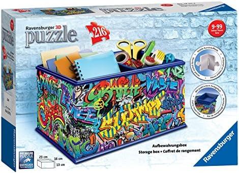 Ravensburger 12111 Graffiti Vanity Caja 216 Piezas Puzzle en 3D ...