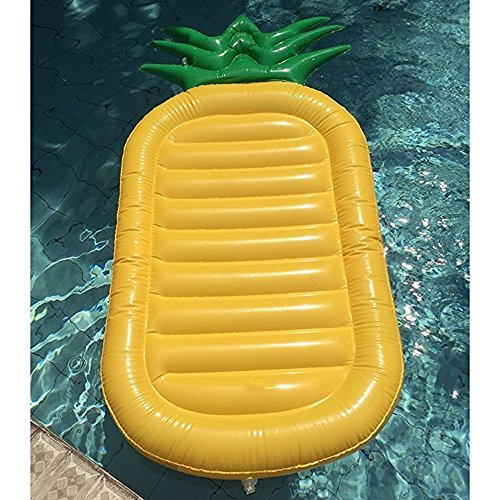 Fly Water Inflatable Pineapple Floating Row Bed Unicorn Cloud Swimming Ring Hammock Sofa Recliner Floating Bed Inflatable Floating Row by Fly (Image #5)