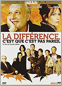 La Différence, c'est que c'est pas pareil [Francia] [DVD]