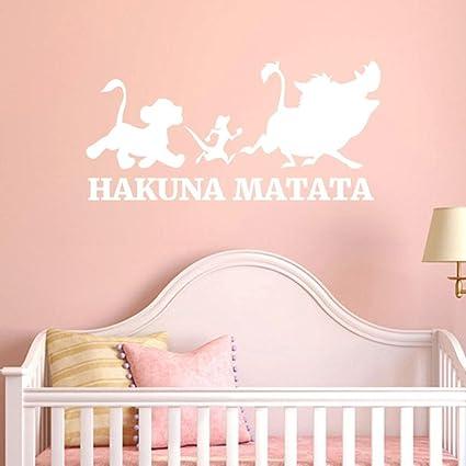 Amazon Com Chouron Wall Stickers Hakuna Matata Removable Art Vinyl