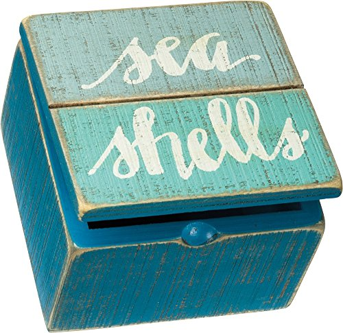 Primitives by Kathy Keepsake Trinket Hinged Box, 4