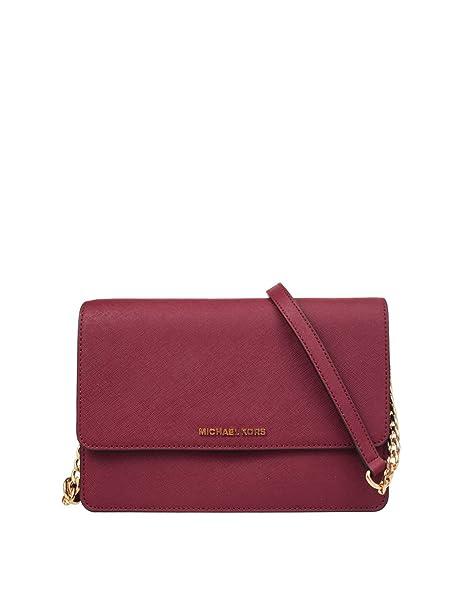 1b5f3b64e3 Michael Kors Daniela Large Flap Gusset Crossbody Mulberry  Amazon.ca  Shoes    Handbags