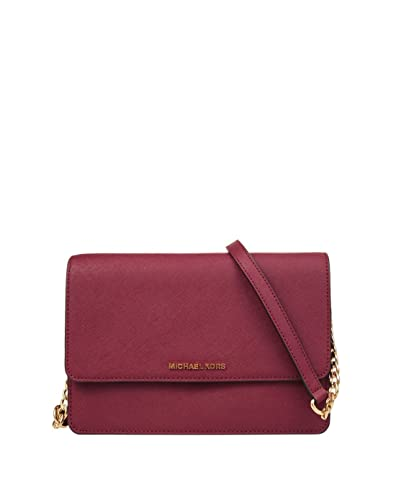 a1ef7b43f121 Amazon.com  Michael Kors Daniela Large Flap Gusset Crossbody Mulberry  Shoes