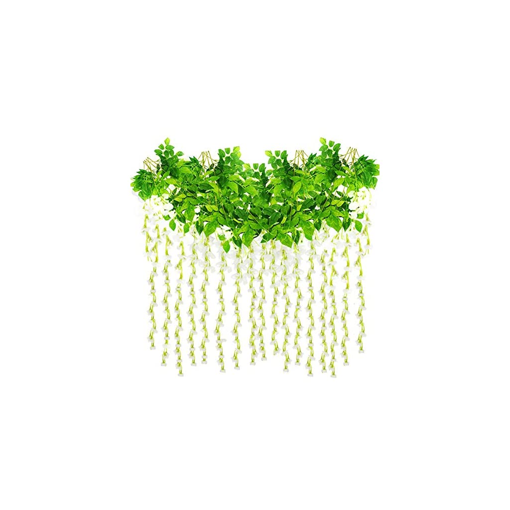 Roffel-16-Strands-110-Ft-Fake-Vines-Greenery-Garland-Ivy-Garland-Leaves-Artificial-Greenery-Hanging-Plants
