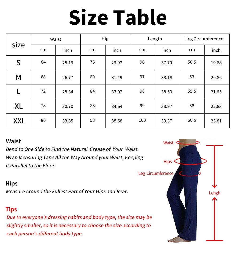 Les Sports de Plein air et comme Port Quotidien d/écontract/é Taille Moyenne HETAIDA Pantalon de Yoga pour Femme Poches dissimul/ées pour Le Fitness /él/égant