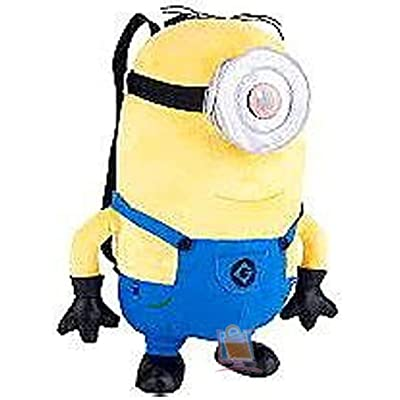 Accessory Innovations Despicable Me Stuart Plush Backpack: Clothing