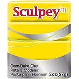 Sculpey III Polymer Clay 2 Ounces-Yellow