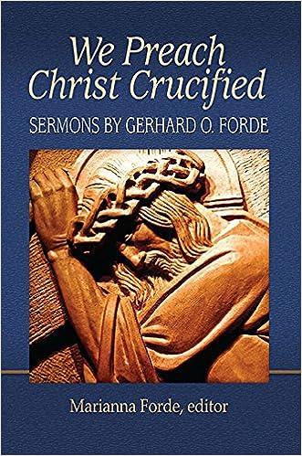 e-book We Preach Christ Crucified