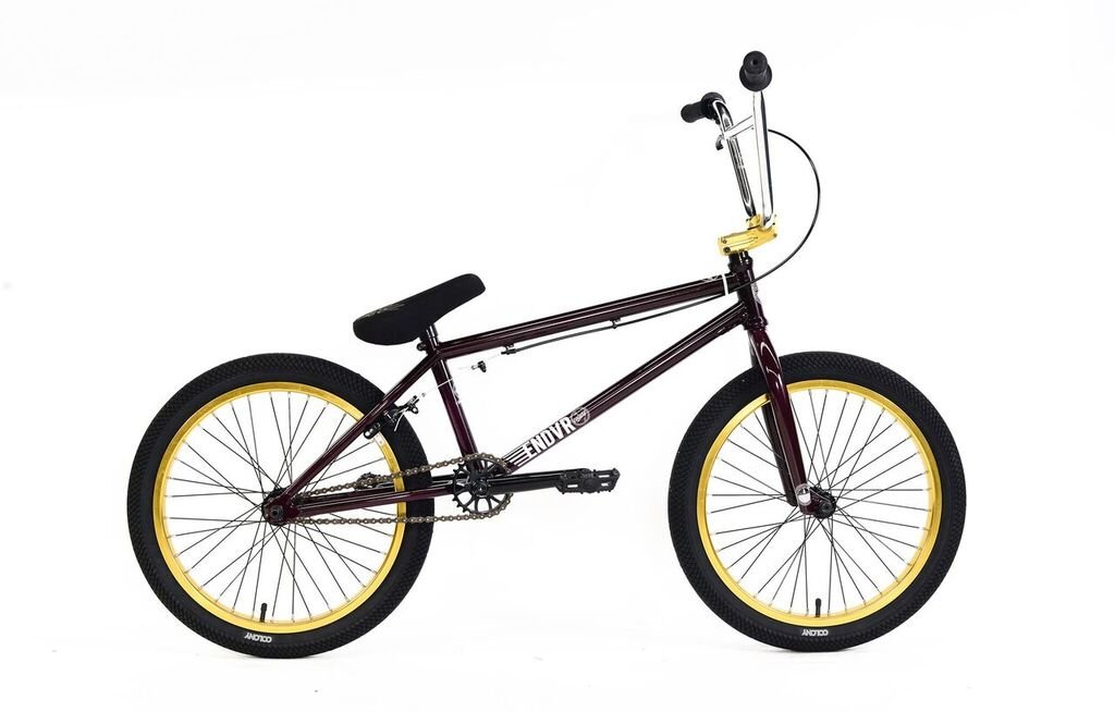 (BMX ストリート フルクロモリ) COLONY 2016 Endeavour (Maroon with Gold) B07DN637GF