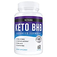 Nutriana Keto Diet Pills - Ketogenic Complete Keto Pills for Women and Men - Keto Supplement BHB Salts - Keto Fast Exogenous Ketones - Ketosis Keto XP Pills 60 Capsules 30 Day Supply