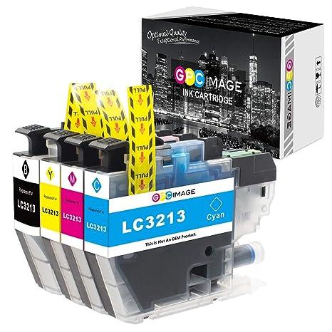 GPC Image LC3213 LC-3213 Cartucho de Tinta Compatible para Brother ...