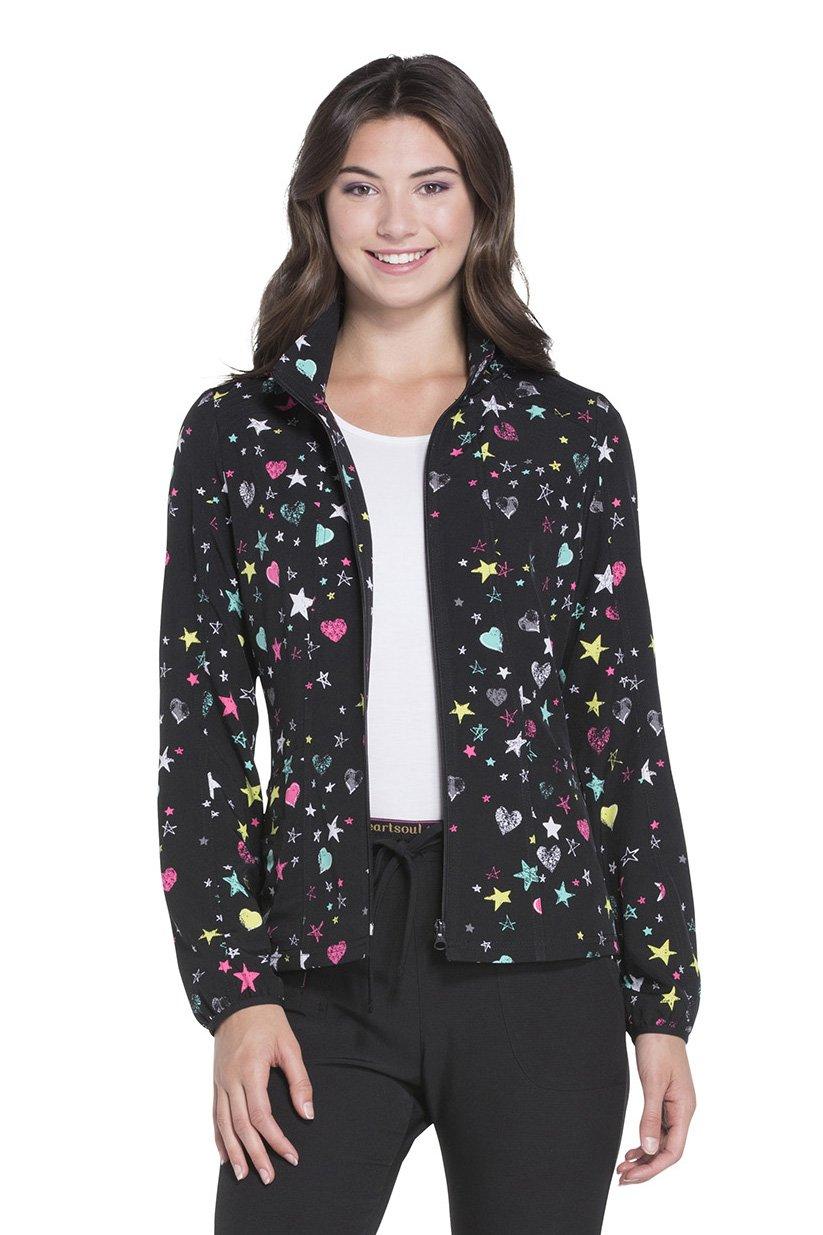 HeartSoul Women's U Da Bom Bomber Jacket_All Star Love_XXS,HS301