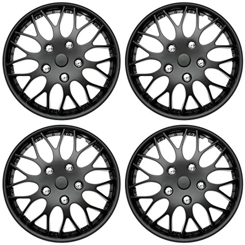 16 hubcaps black - 6