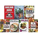 Nom nom paleo, paleo cookbook, plant based paleo [hardcover], paleo slow cooker, paleo for beginners, paleo diet and paleo diet made easy cookbook 7 books collection set