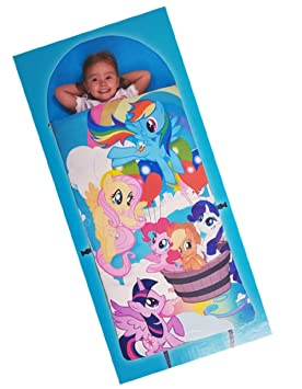 Clever Sleeping Bag My Little Pony - Saco de Dormir con colchón de Espuma extraíble: Amazon.es: Hogar