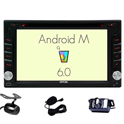 Amazon.com: Front & Backup Camera Included! Android 6.0 Double Din on