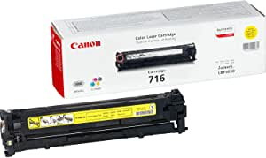 Canon Laser Toner Cartridge - 716, Yellow