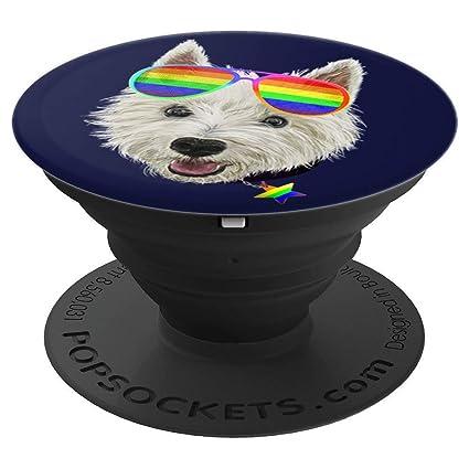 Amazon.com: Gay Pride Westie LGBT - Gafas de sol para perro ...