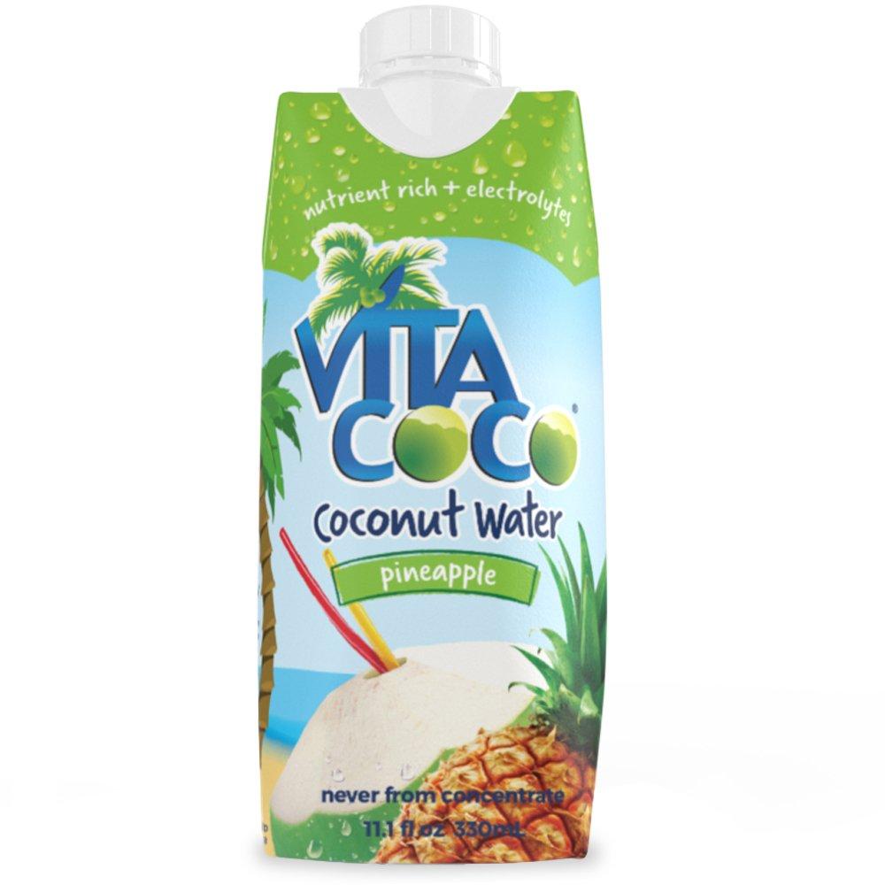 Vita Coco Coconut Water with Pineapple, 11.2 oz
