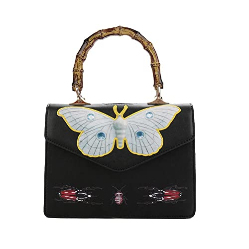 c0105cca82 2017 NEW printing messenger Bag Women Handbag Shoulder bag crossbody bag  Tote Bags with Bamboo handle: Amazon.ca: Shoes & Handbags