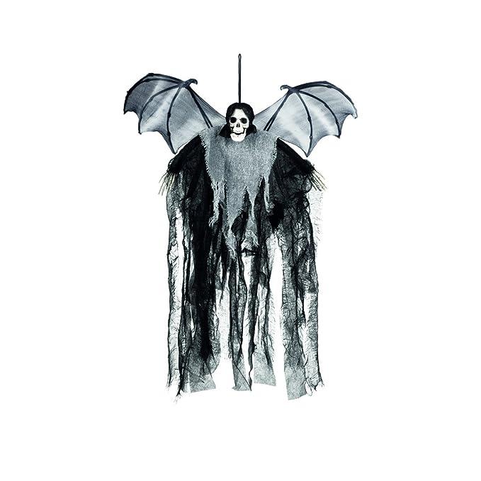 Fliegende Hexe Halloween Deko Gruselig Partydeko Hexendekoration 40cm Hängedeko