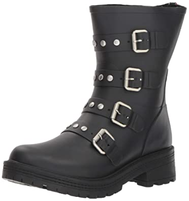 4a29ab8fb73 Steve Madden Women s Thunder Mid Calf Boot Black 6 ...