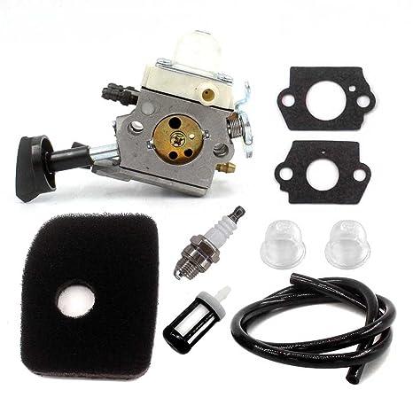 Aisen Carburador con filtro de aire Bujía apto para Stihl ...