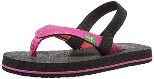 79cb2824bfb4 Sanuk Girls  Yoga Mat Sandals Hot Pink   Red 7 8   Shoe Cleaner