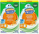 Scrubbing Bubbles Fresh Brush Refill 10-Count,2 Pack