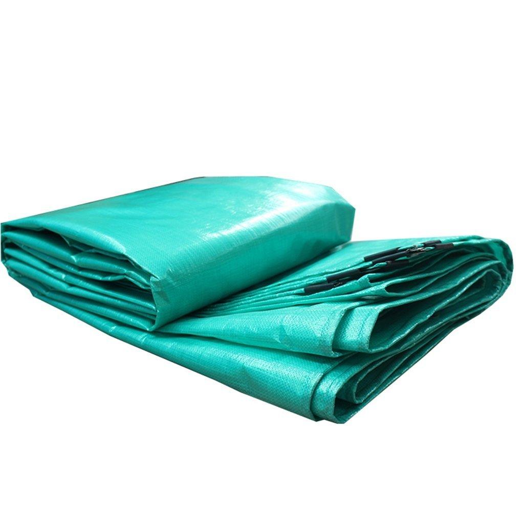 Tarpaulin Outdoor Sun Protection Sunscreen Tarpaulin Polyethylene Woven Tarpaulin (Size : 2x5m)