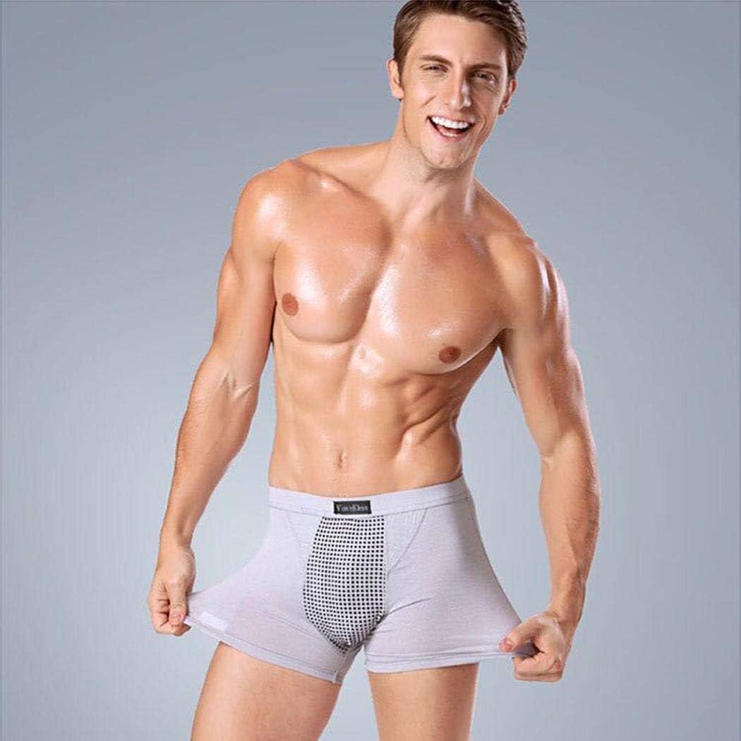 Redpol Men Casual Patchwork Natural Waist Magnet Panty Briefs Underwear Briefs