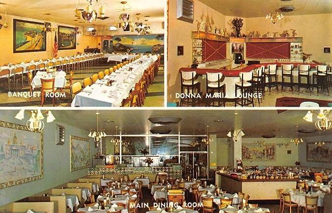 Atlantic City New Jersey Luigis Restaurant Multiview Vintage
