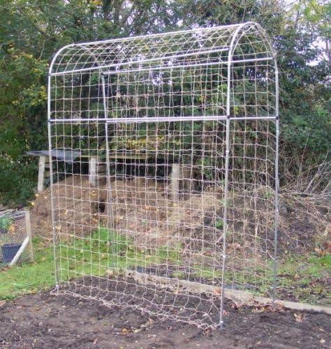 Guisante y Bean, curvada, marco de jardín planta estructura de ...