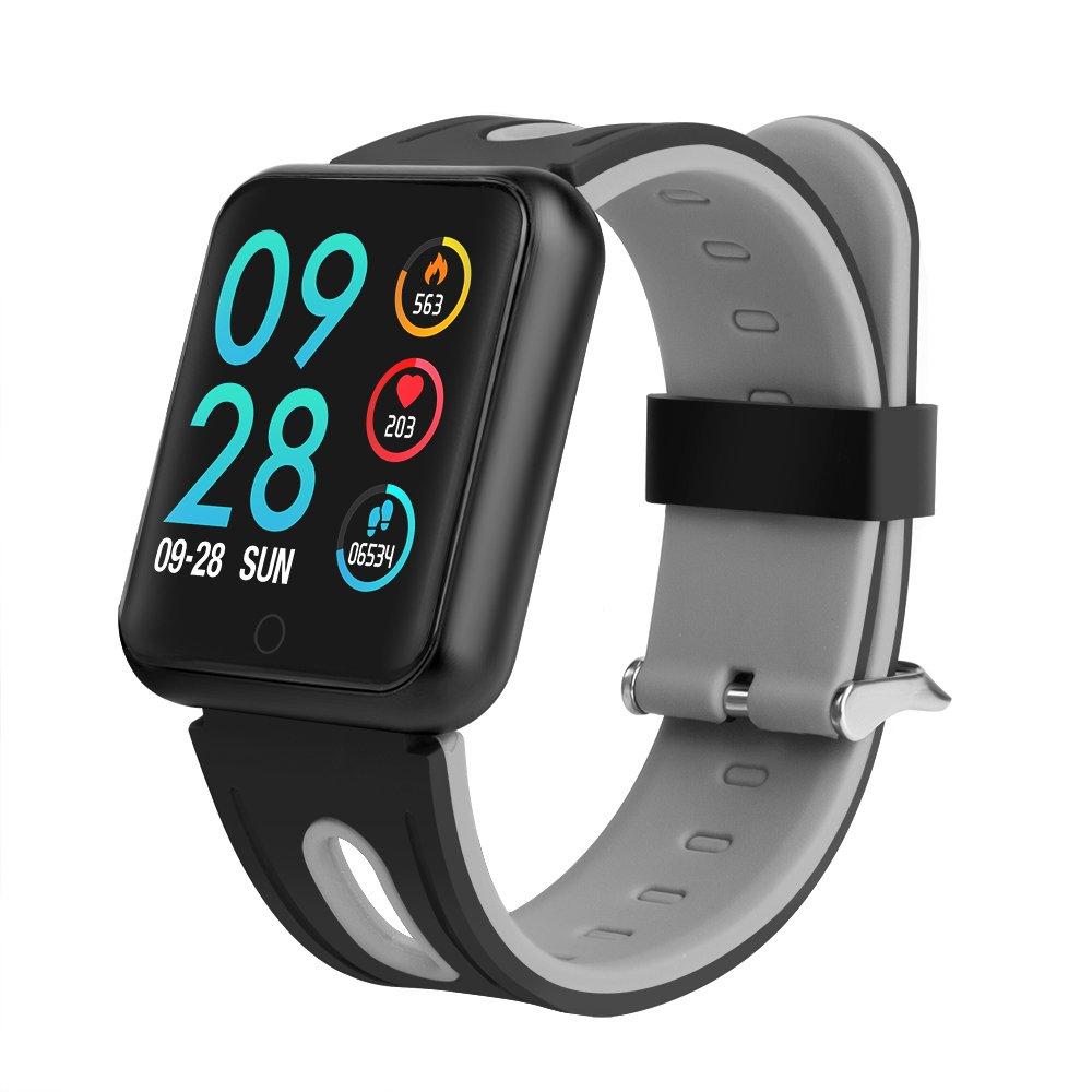 Tracker SmartwatchSmart Aktivität Sport Mit Fitness Intelligente Armband Watch Uhr Schrittzähler Techcode Bluetooth Herzfrequenz Armbanduhr dCxBero