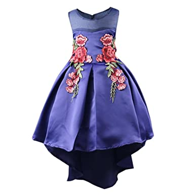 Bovake Baby Girl Dresses,Baby Gown for Girls Petals Dress Cheap Bridesmaid Party Princess Wedding