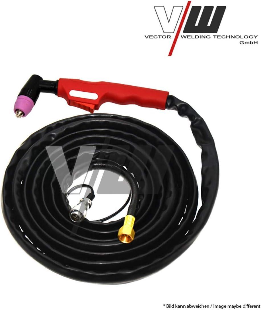 200 Ampere HF Z/ündung WIG Schwei/ßger/ät AC DC mit Plasmaschneider sowie Elektrodenschwei/ßfunktion Pulsfunktion 2 und 4 Takt Jobspeicher von Vector Welding