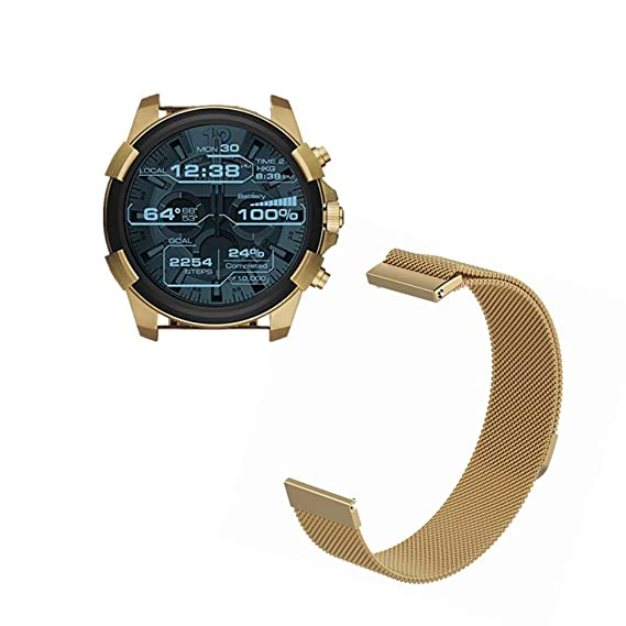 Amazon.com: for Diesel On Full Guard Band, FRGNIE Milanese ...