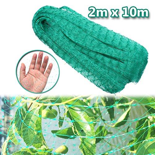 KINGSO Garden Netting Mesh Barrier Hunting Blind Garden Netting For Protect Your Plant Fruits Flower 6Ft x 32Ft