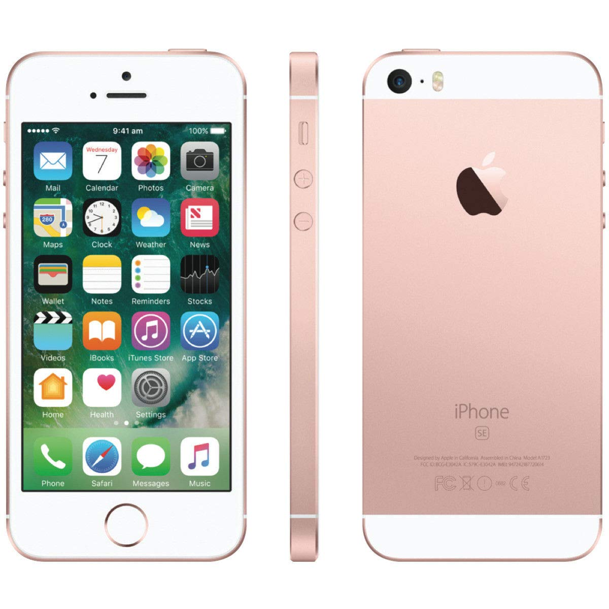Amazon com: Apple iPhone SE, Boost Mobile, 32GB - Rose Gold