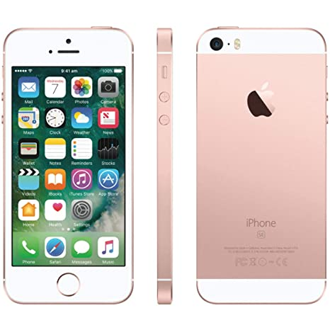 Apple I Phone Se, Verizon, 32 Gb   Rose Gold (Renewed) by Amazon Renewed