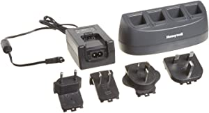 honeywell - scanning mb4-bat-scn01naw0 wallmount 4-bay battery charger for 3820/4820/6320
