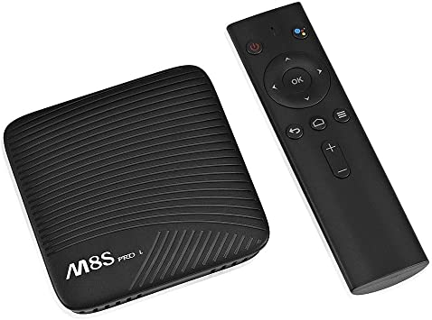 M8S Pro L Android 7.1 OS TV Box 3GB RAM 32GB ROM Amlogic S912 Octa Core CPU Dual Band WiFi 2.4G/5G LAN Bluetooth: Amazon.es: Electrónica
