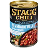 Stagg Silverado Beef Chili with Beans, 15 Ounce (Pack of 12)