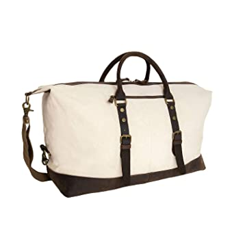 b5fbdb391 Amazon.com: Rothco Extended Weekender Bag, Natural: Army Universe