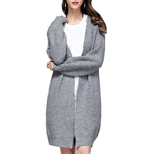 Zhhlaixing Suéter hermoso Women Sweater Coat Knitted Cardigan Korean Version Elastic Slim fit for al...