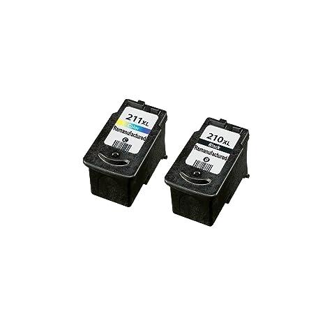Compatible PG 210 XL CL 211 Ink Cartridges 1 Blk