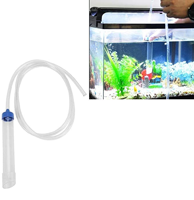 Acuario Cambiador de Agua Manual Limpiador de Grava Filtro de Agua ...