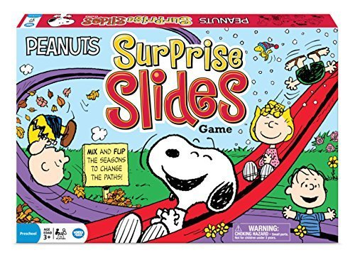 Peanuts Surprise Slides Game by The Wonder Forge
