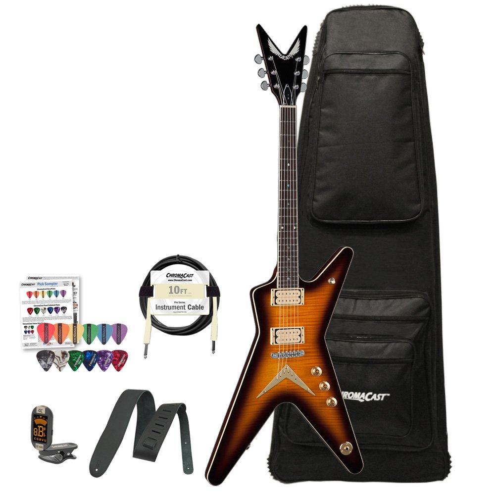 Dean Guitars Chicago serie ml-cf-tbz-kit-1 Chicago Llama Kit de guitarra eléctrica: Amazon.es: Instrumentos musicales